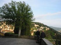 フィレンツェ滞在中によく行ったのが・・・(フィエーゾレ・Fiesole)