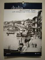 写真ミュージアム・ALINARIのカレンダー