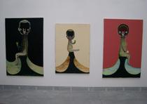 加藤泉さんのペインティング(ヴェネツィア・ビエンナーレ、La Biennale di Venezia)