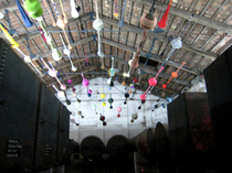 中国の4人の作家の共作(ヴェネツィア・ビエンナーレ、La Biennale di Venezia)