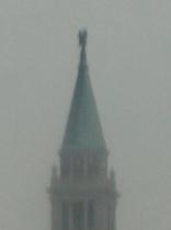 雨に煙るサン・ジョルジョ・マッジョーレ教会