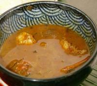 マドラスキッチン・エビスープ