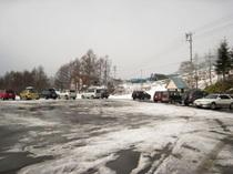 野麦峠スキー場・駐車場