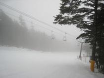 野麦峠スキー場・標高は2130m