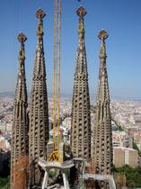 ご存知、サグラダ・ファミリア(Sagrada Familia)