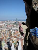 サグラダ・ファミリアからの眺め(Sagrada Familia)