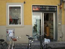 フィレンツェのチョコレート屋さん「La Bottega del Cioccolato di Andrea Bianchini」(ラ・ボッテガ・デル・チョコラート・ディ・アンドレア・ビアンキーニ)