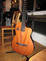 初めてみたスペイン製のギター