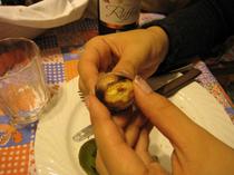 栗を食べるという「サン・マルティーノの日」
