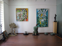 Chennai(チェンナイ)の「ARTWORLD The Fine Art Gallery,Sarala Art Centre」