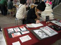 この日はクリスタ長堀のアート&クラフトマーケット(Arts & Crafts Market)に参加