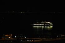出港したフォーレンダム。カナダ・バンクーバーまで行くみたいです
