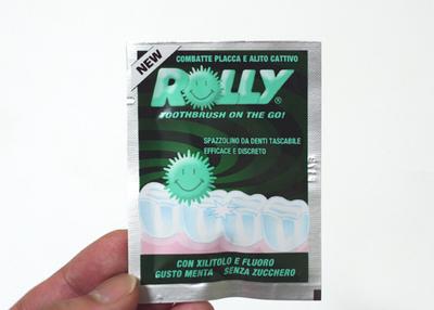 イタリアの面白歯ブラシ「ROLLY」(ローリー)