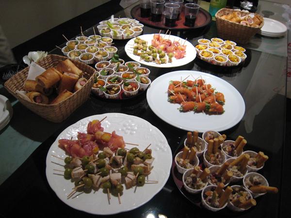 L.A.Tomari「lā」のパーティー料理