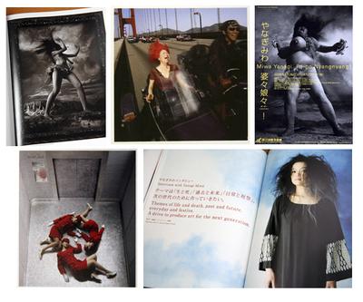 ヴェネツィア出展の作品「Windswept Woman 1、2、3、4、5」や、「エレベーターガール」「マイ・グランドマザーズ」などなど(写真はフライヤーとか『ART iT』より)