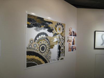 堂島ホテルでのアート大阪で描かれた作品