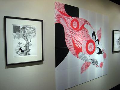 PECHU作品展「金魚∞宇宙」