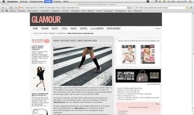 GLAMOUR(グラムール)というオランダのファッション雑誌