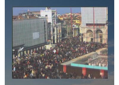 サン・マルコ広場は「カーニバル」で大賑わい!