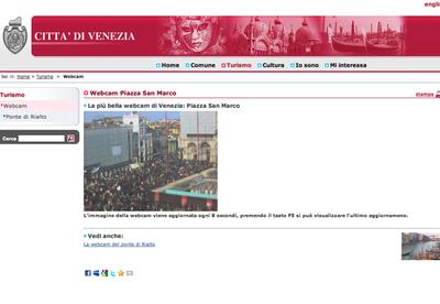 「CITTA' DI VENEZIA」から(Piazza San Marco)