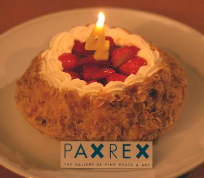 PAXREX  4周年