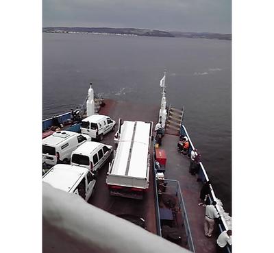 船でイスタンブール