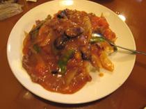 華楽園・トマトと牛肉飯