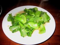竹海(ズーハイ)・生の高菜の炒め物