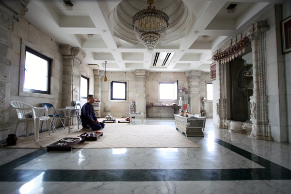 北野のジャイナ教寺院