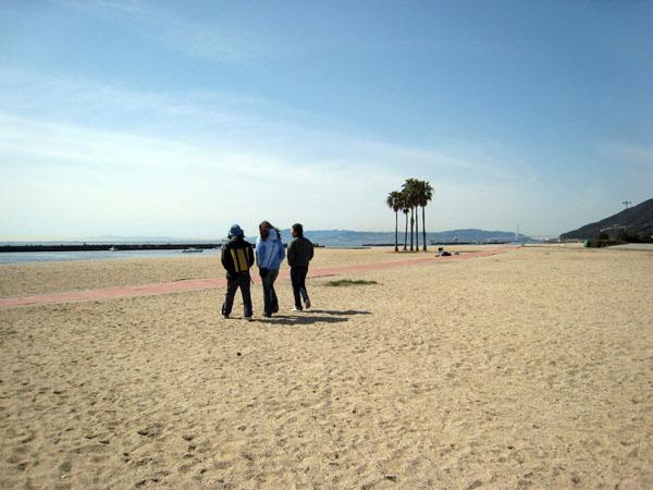 須磨海岸(Suma beach)