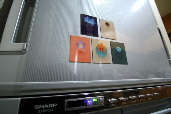 アート・マグネットon冷蔵庫