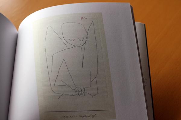 「忘れっぽい天使」(『Klee's Kitchen』より)