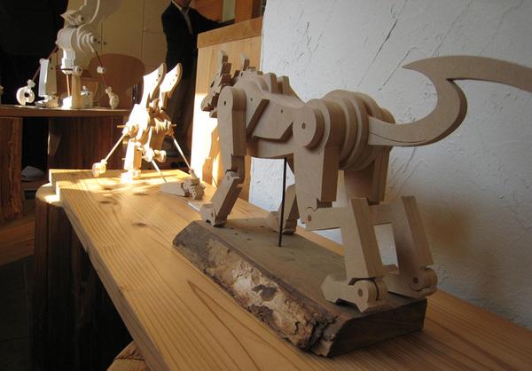 「木のおもちゃ作品展」